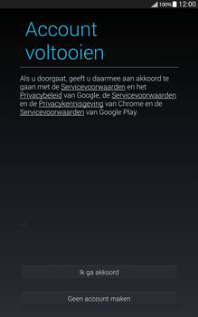 Samsung Galaxy Tab4 8.0 4G (SM-T335) - Applicaties - Account aanmaken - Stap 14
