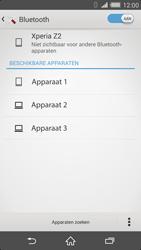 Sony Xperia Z2 4G (D6503) - Bluetooth - Aanzetten - Stap 5