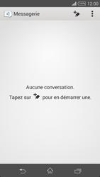 Sony Xpéria Z3 - Contact, Appels, SMS/MMS - Envoyer un SMS - Étape 4