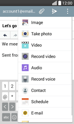 LG H220 Joy - Email - Sending an email message - Step 11