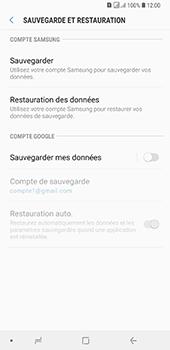 Samsung Galaxy A7 (2018) - Données - créer une sauvegarde avec votre compte - Étape 6