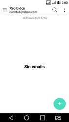 LG K4 (2017) - E-mail - Configurar Yahoo! - Paso 10
