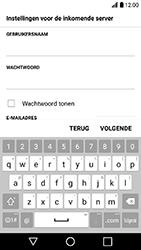 LG K10 2017 - E-mail - Handmatig instellen - Stap 11