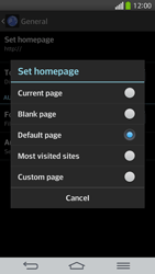 LG G Flex D955 - Internet - Manual configuration - Step 24