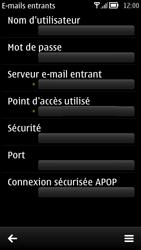 Nokia 700 - E-mail - Configuration manuelle - Étape 17