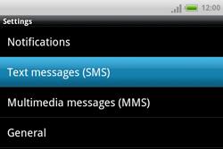 HTC A810e ChaCha - SMS - Manual configuration - Step 5