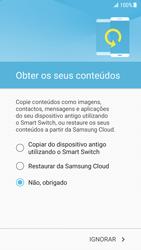 Samsung Galaxy S7 - Android Nougat - Primeiros passos - Como ligar o telemóvel pela primeira vez -  18