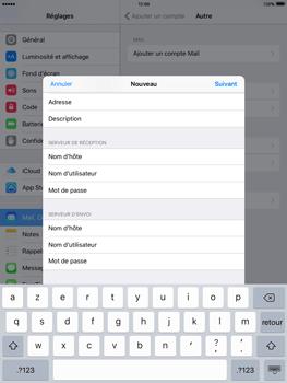 Apple iPad Mini 3 iOS 9 - E-mail - Configuration manuelle - Étape 14