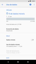 Google Pixel 2 - Rede móvel - Como ativar e desativar uma rede de dados - Etapa 7