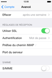 Apple iPhone 4 S iOS 7 - E-mail - Configuration manuelle - Étape 24