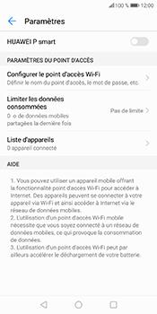 Huawei P Smart - Internet et connexion - Partager votre connexion en Wi-Fi - Étape 7