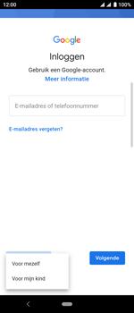 Sony xperia-10-I4113 - Applicaties - Account aanmaken - Stap 6