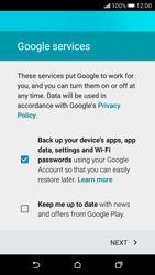 HTC Desire 626 - Applications - Create an account - Step 15