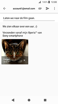 Sony Xperia XA2 Ultra - E-mail - e-mail versturen - Stap 13