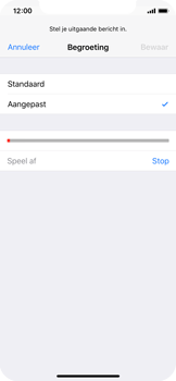 Apple iPhone X - Voicemail - Visual Voicemail - Stap 12