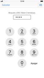 Apple iPhone 8 - Segurança - Como ativar o código PIN do cartão de telemóvel -  7