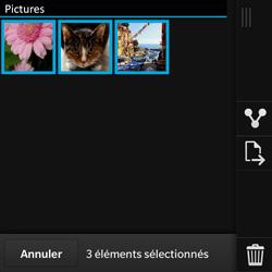 BlackBerry Q10 - Photos, vidéos, musique - Envoyer une photo via Bluetooth - Étape 8