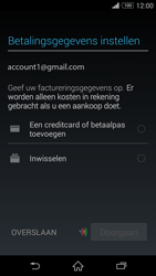 Sony Xperia Z3 4G (D6603) - Applicaties - Account aanmaken - Stap 20