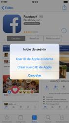 Apple iPhone 6 iOS 10 - Aplicaciones - Tienda de aplicaciones - Paso 8