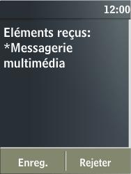 Nokia X3-02 - MMS - Configuration automatique - Étape 4