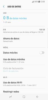 Samsung Galaxy S8 - Internet - Activar o desactivar la conexión de datos - Paso 8