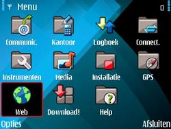 Nokia E71 - Internet - internetten - Stap 2