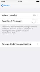 Apple iPhone SE - Réseau - Changer mode réseau - Étape 5