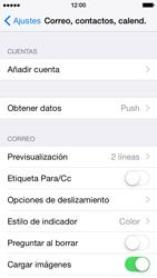 Apple iPhone 6 iOS 8 - E-mail - Configurar Outlook.com - Paso 4