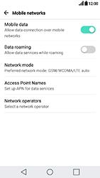 LG K10 2017 - Internet - Manual configuration - Step 6