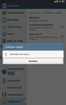 Samsung T315 Galaxy Tab 3 8-0 LTE - Software updaten - Update installeren - Stap 8