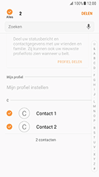 Samsung Galaxy S7 - Android N - Contactgegevens overzetten - delen via Bluetooth - Stap 7