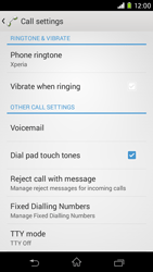 Sony Xperia M2 (D2303) - Voicemail - Manual configuration - Step 5