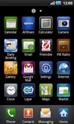 Samsung I5800 Galaxy Apollo - Internet - Internet browsing - Step 2