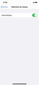 Apple iPhone XS - iOS 13 - Réseau - Utilisation à l
