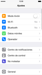 Apple iPhone 5s - Bluetooth - Conectar dispositivos a través de Bluetooth - Paso 3