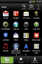 HTC A320e Desire C - Voicemail - Handmatig instellen - Stap 3
