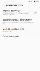 Samsung Galaxy S6 - Android Nougat - Mensajería - Configurar el equipo para mensajes de texto - Paso 10