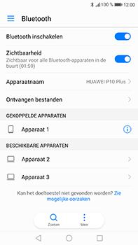 Huawei P10 Plus - Bluetooth - headset, carkit verbinding - Stap 7