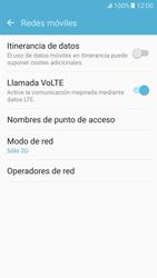 Samsung Galaxy S7 - Red - Seleccionar el tipo de red - Paso 7