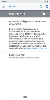 Google Pixel 3 - Wi-Fi - Se connecter à un réseau Wi-Fi - Étape 6