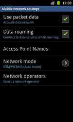 Samsung I8530 Galaxy Beam - MMS - Manual configuration - Step 6