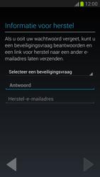 Samsung N7100 Galaxy Note II - Applicaties - Account aanmaken - Stap 8