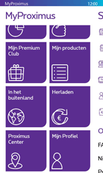 Nokia Lumia 635 - Applicaties - MyProximus - Stap 20