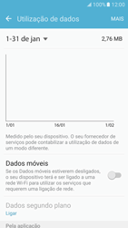 Samsung Galaxy S7 - Internet no telemóvel - Como ativar os dados móveis -  5