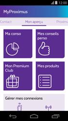 Acer Liquid E600 - Applications - MyProximus - Étape 14