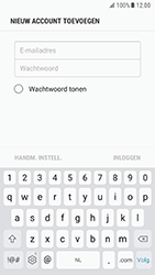 Samsung Galaxy S7 - Android N - E-mail - handmatig instellen - Stap 6