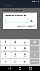 LG LG K10 4G (K420) - Messagerie vocale - configuration manuelle - Étape 10
