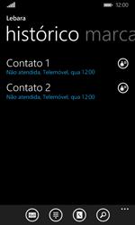 Microsoft Lumia 435 - Chamadas - Como bloquear chamadas de um número -  4