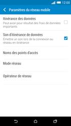 HTC One (M8) - Aller plus loin - Désactiver les données à l'étranger - Étape 6