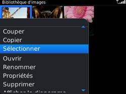 BlackBerry 9320 - Photos, vidéos, musique - Envoyer une photo via Bluetooth - Étape 7
